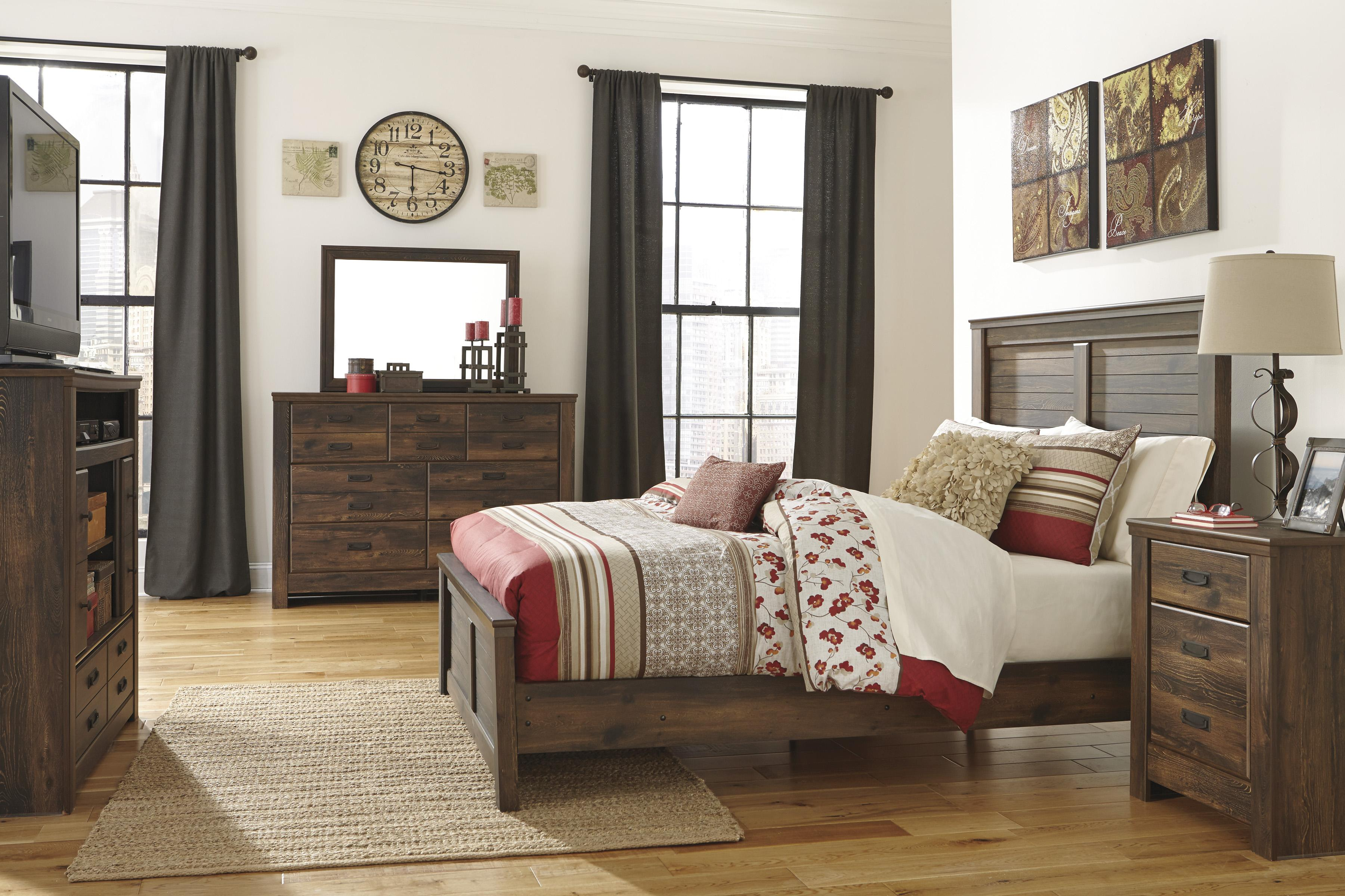 Signature Design by Ashley Quinden Queen Bedroom Group - Item Number: B246 Q Bedroom Group 5