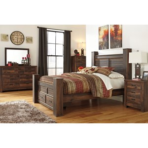 Signature Design by Ashley Quinden Queen Bedroom Group