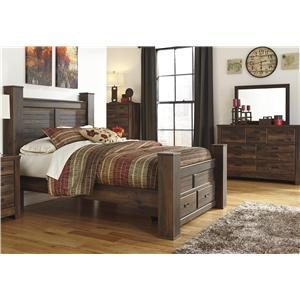 Signature Design by Ashley Quinden 3PC Queen Bedroom