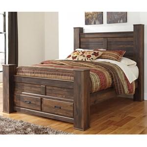 Signature Design by Ashley Quinden Queen Storage Bed