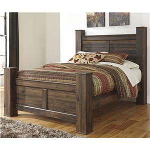 Signature Design by Ashley Quinden Queen Poster Bed