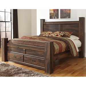 Signature Design by Ashley Quinden King Storage Bed