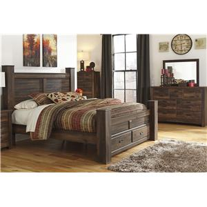 Signature Design by Ashley Quinden 3PC King Bedroom
