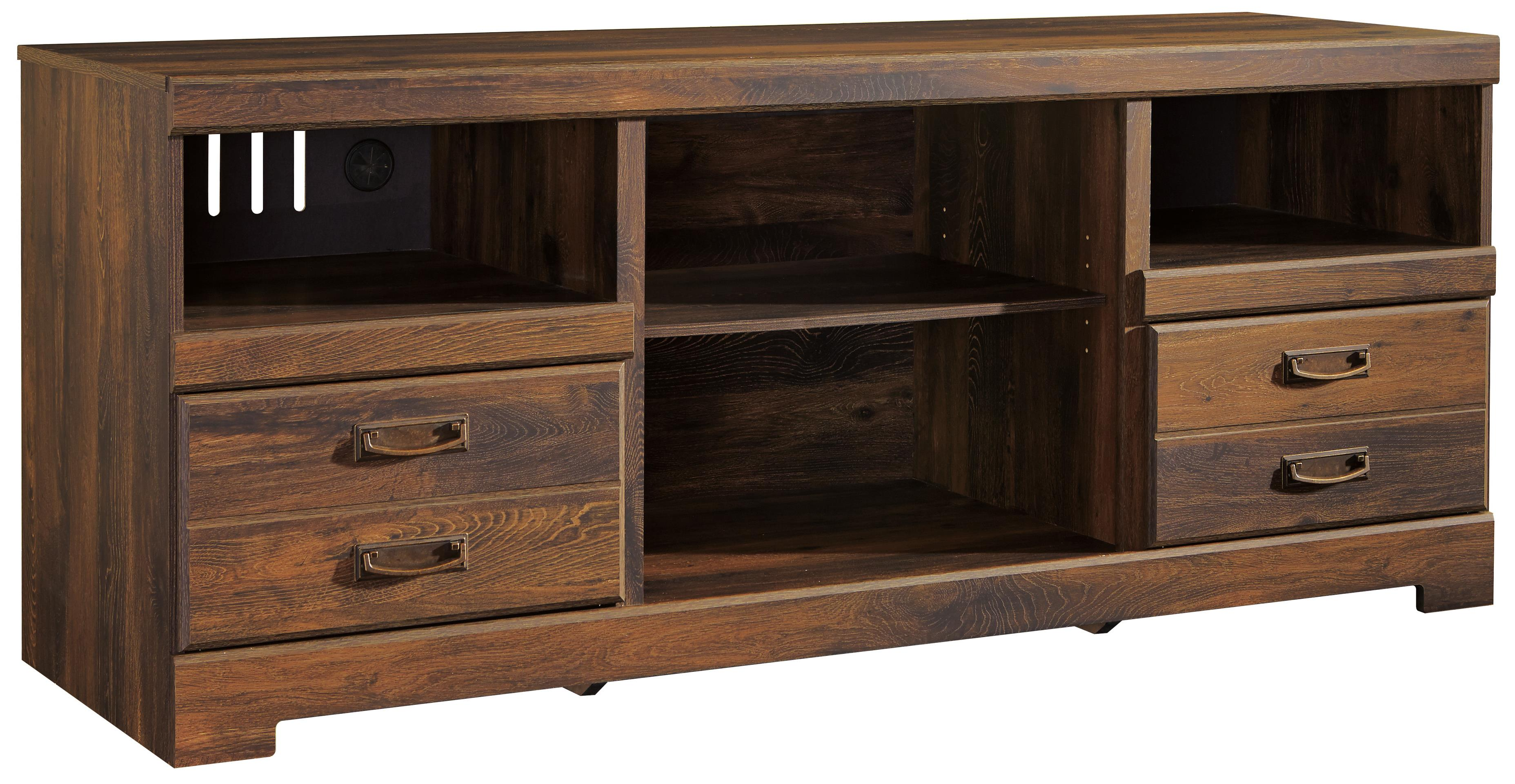 Signature Design by Ashley Quinden Large TV Stand - Item Number: W246-68