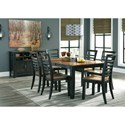 Signature Design by Ashley Quinley Casual Dining Room Group - Item Number: D645 Dining Room Group 1