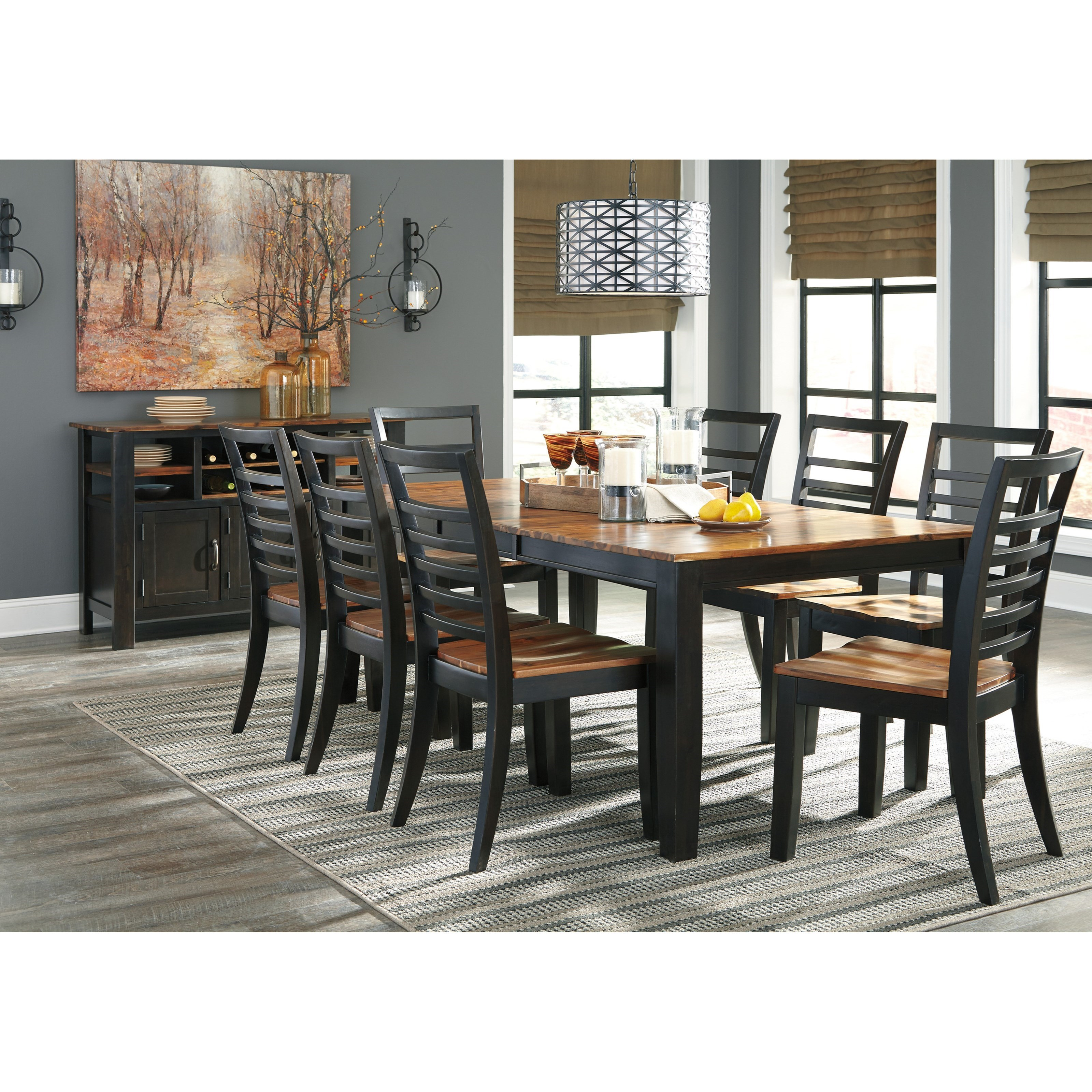 Ashley formal dining room furniture