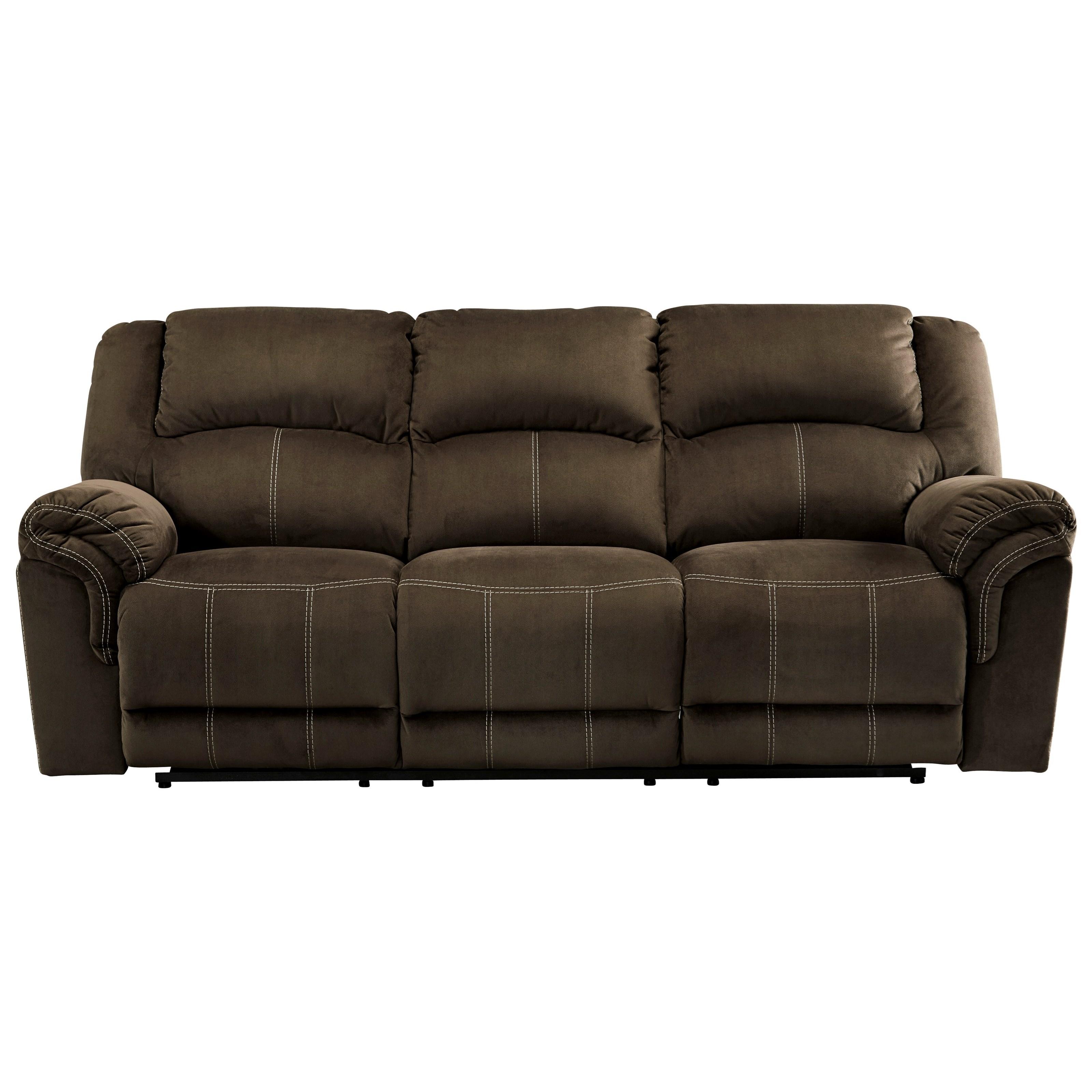 Signature Design By Ashley Quinnlyn 9570187 Reclining Power Sofa Lapeer Furniture Mattress