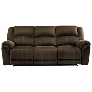 Signature Design by Ashley Quinnlyn Reclining Power Sofa