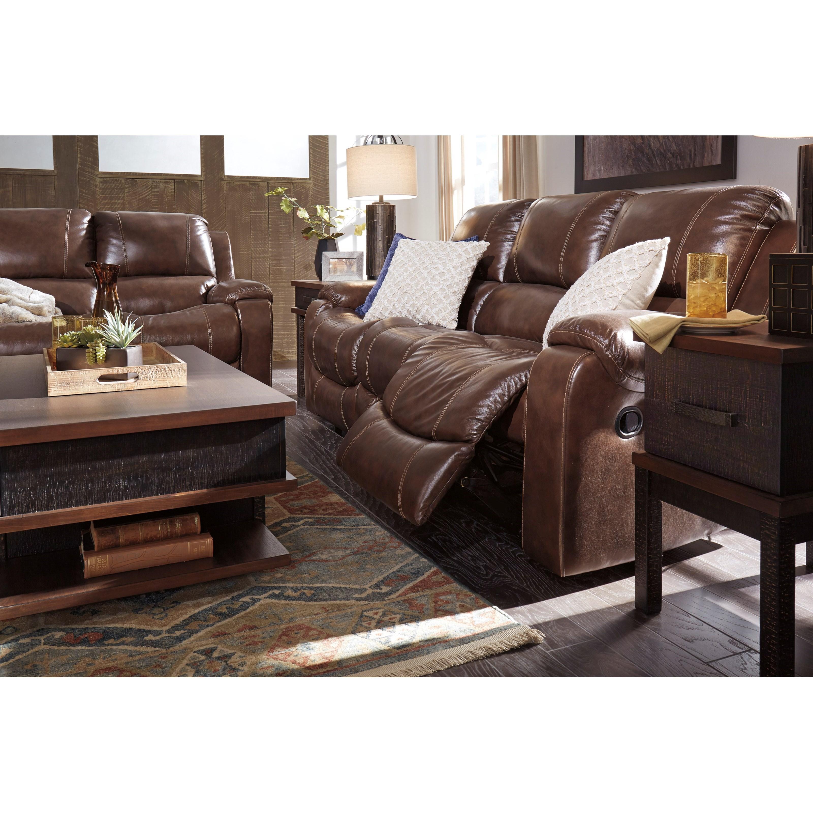 Signature Design Couch: Signature Design By Ashley Rackingburg U3330188 Reclining