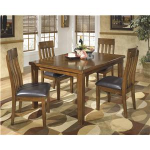 Signature Design by Ashley Ralene 5 Pc Dining Set  sc 1 st  VanDrie Home Furnishings & Table and Chair Sets | Cadillac Traverse City Big Rapids Houghton ...