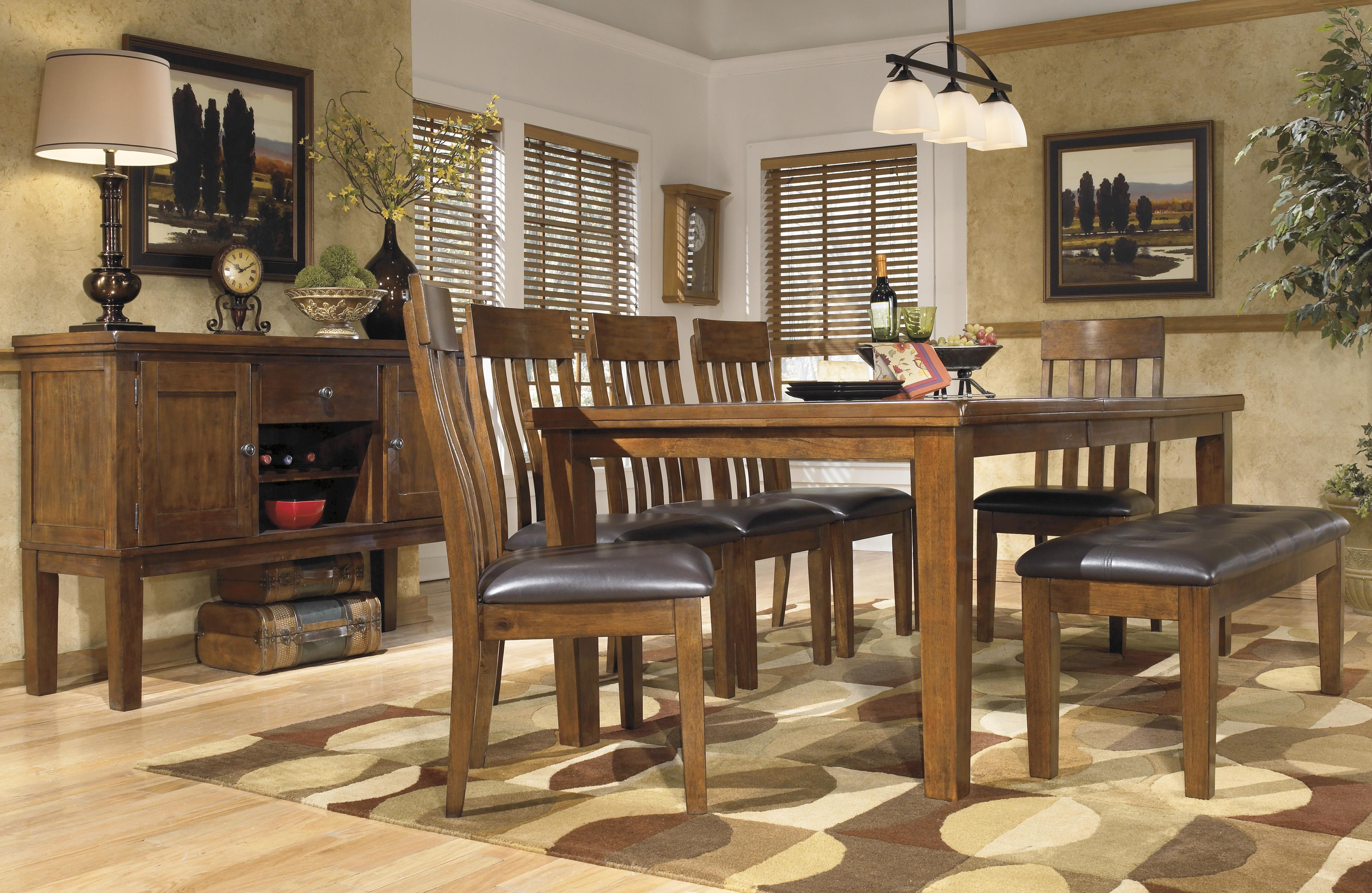 Signature Design By Ashley Ralene Casual 7 Piece Dining