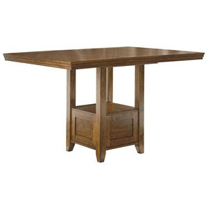 Rectangular Dining Room Counter EXT Table
