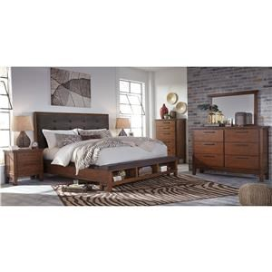 Signature Design by Ashley Ralene Queen 6-Piece Bedroom Group