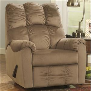Ashley (Signature Design) Raulo - Mocha Rocker Recliner