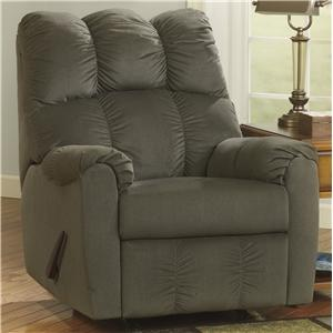 Signature Design by Ashley Raulo - Moss Rocker Recliner