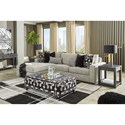 Signature Design by Ashley Ravenstone Living Room Group w/ Sofa Bed - Item Number: 26905 Living Room Group 2