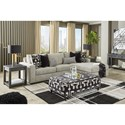 Signature Design by Ashley Ravenstone Living Room Group w/ Sofa Bed - Item Number: 26905 Living Room Group 4