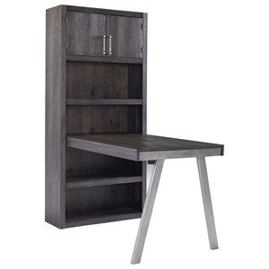 Signature Design by Ashley Raventown Desk Return & Large Bookcase