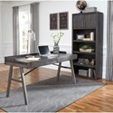 Signature Design by Ashley Raventown Large Bookcase in Grayish Brown Finish