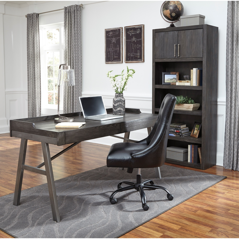 Homeoffice Furniture Design: Signature Design By Ashley Raventown H467-44 Contemporary