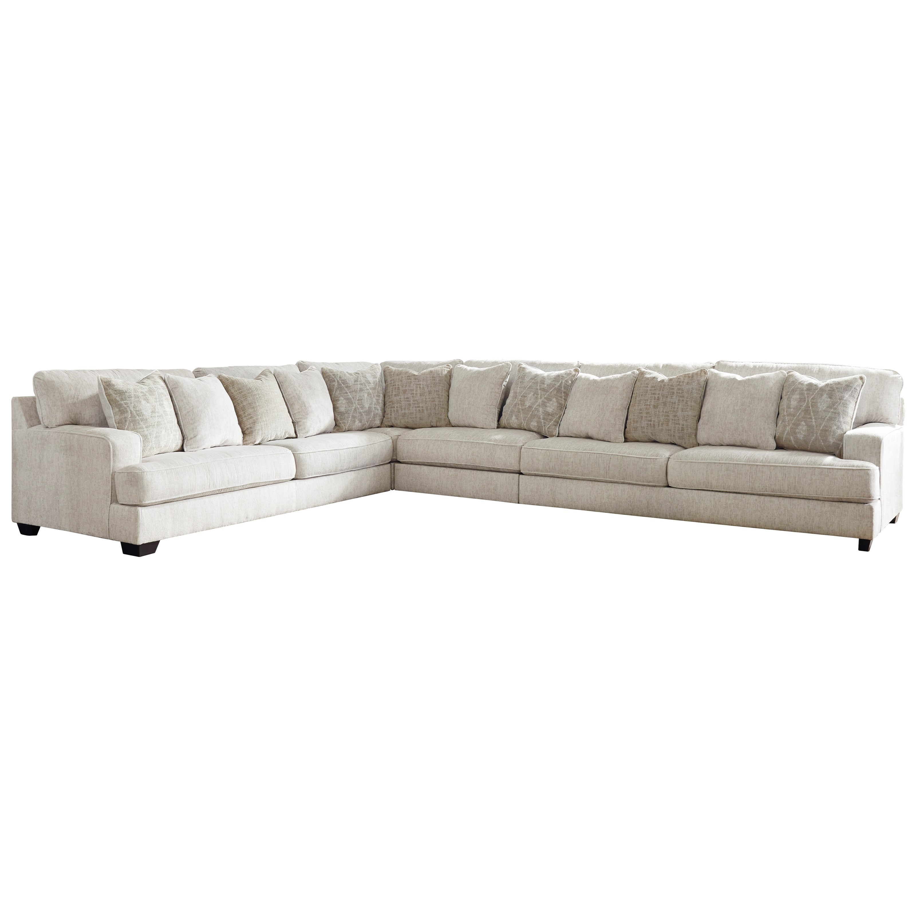 Rawcliffe 4-Piece Sectional by Signature Design by Ashley at Beck's Furniture