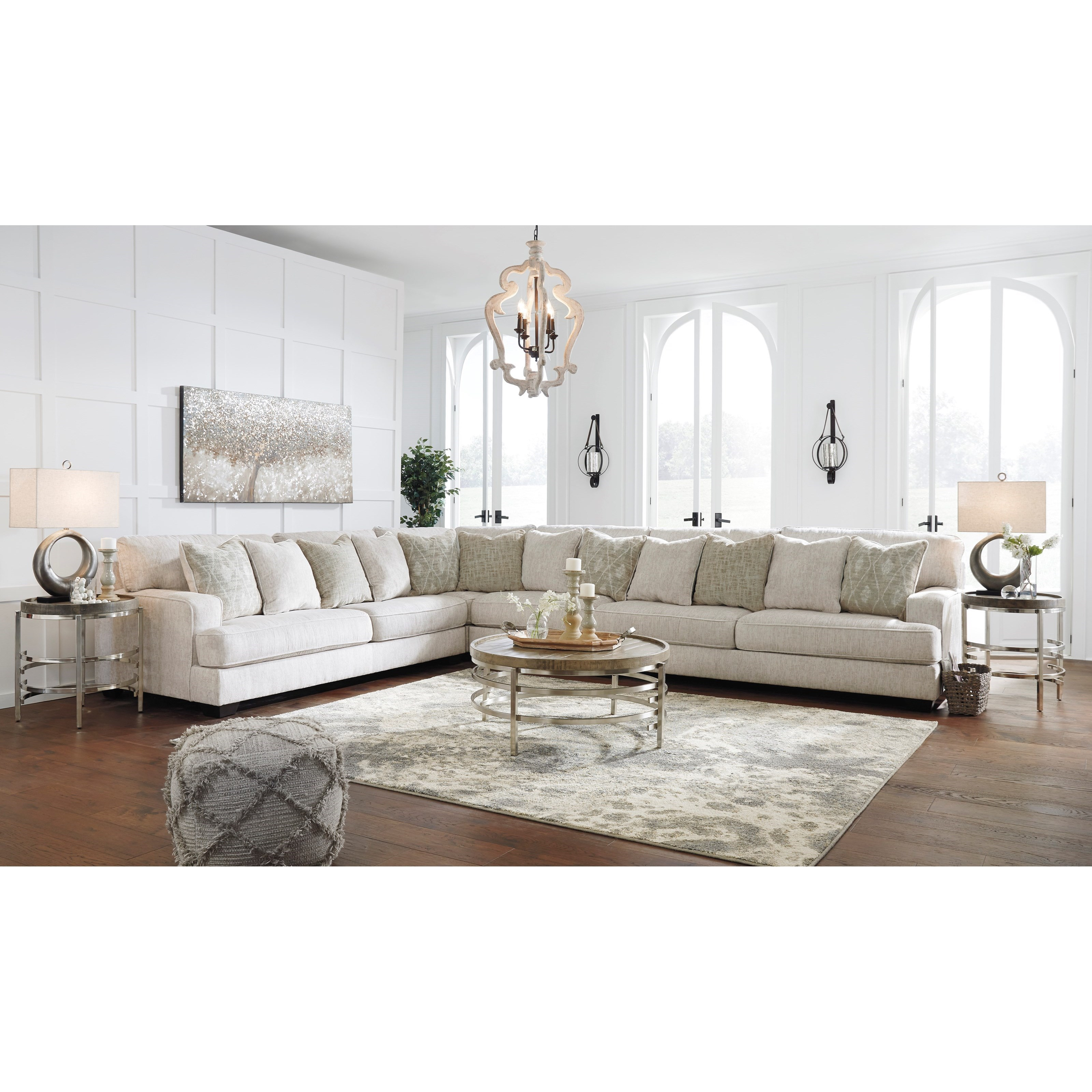 Signature Design By Ashley Rawcliffe 4-Piece Sectional