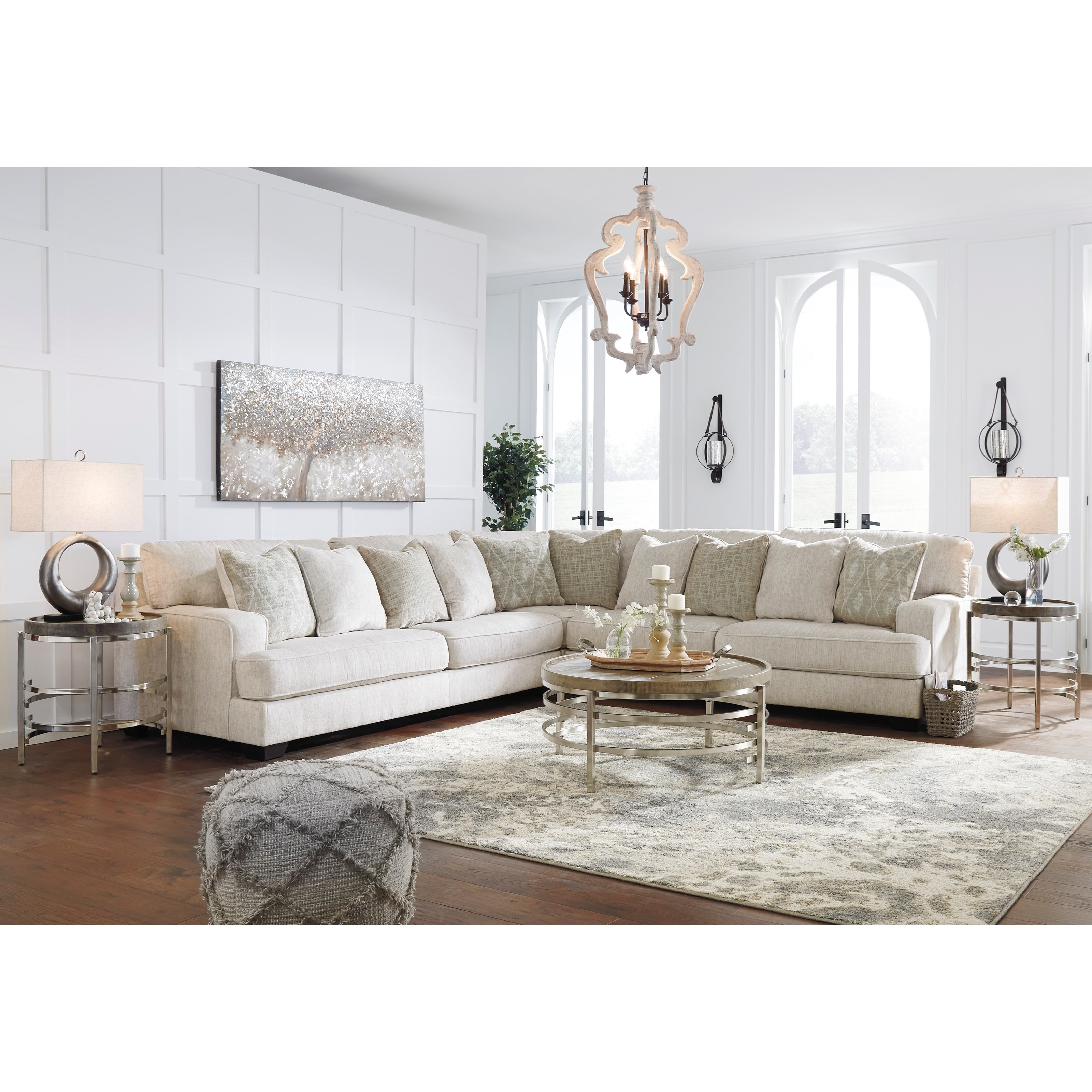 Ashley Signature Design Rawcliffe 3-Piece Sectional With
