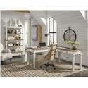 Signature Design by Ashley Realyn Home Office Desk and Return, Office Chair an - Item Number: 893474331