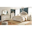 Signature Design by Ashley Claire California King Bedroom Group - Item Number: B743 CK Bedroom Group