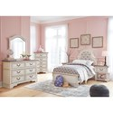 Signature Design by Ashley Realyn Twin Bedroom Group - Item Number: B743 T Bedroom Group 2