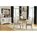 Signature Design by Ashley Realyn Casual Dining Room Group - Item Number: D743 Dining Room Group 3