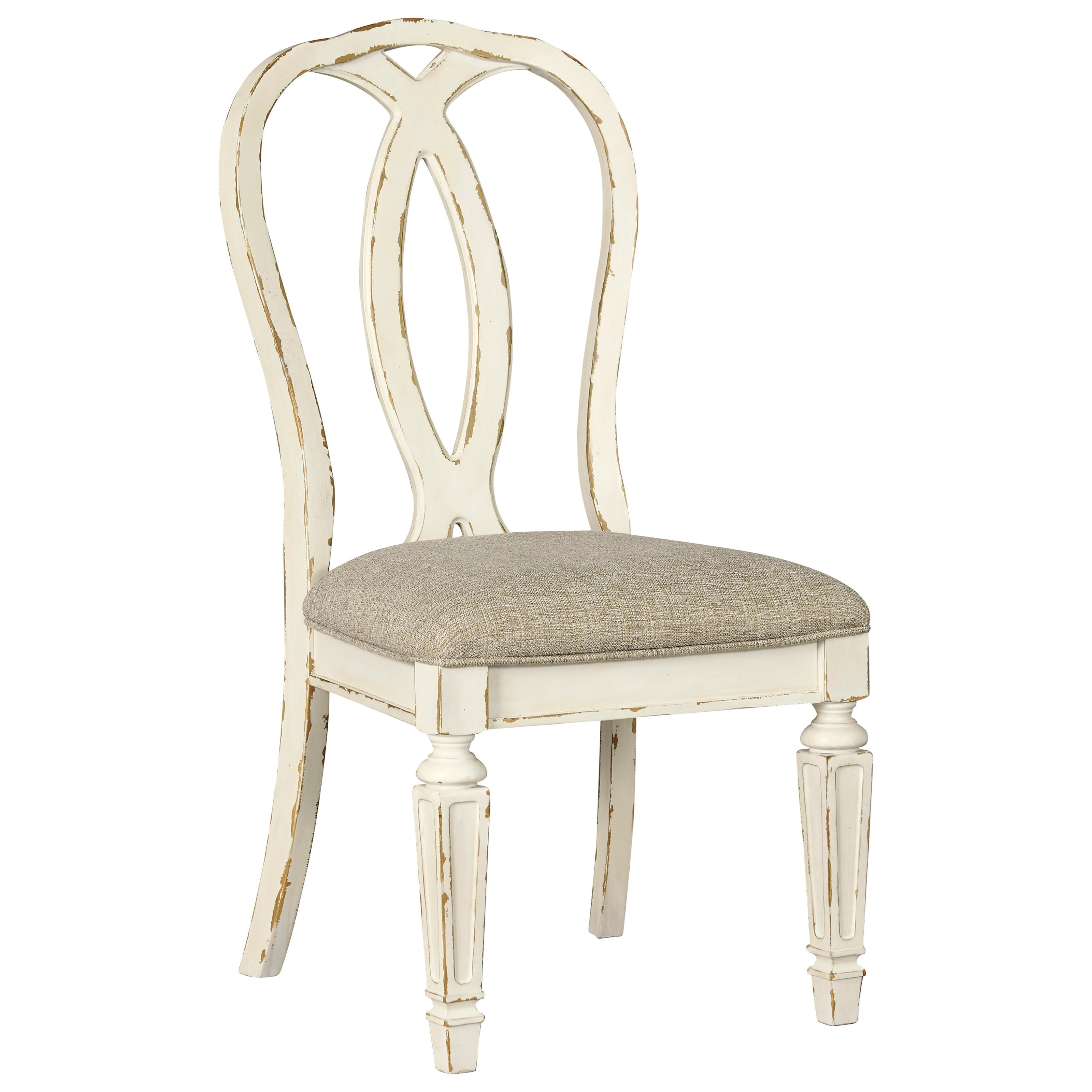 Signature Design By Ashley Realyn Dining Upholstered Side Chair Royal Furniture Dining Side Chairs