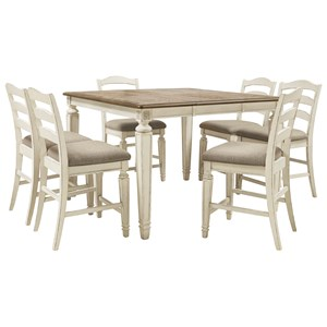 7-Piece Counter Extension Table Set