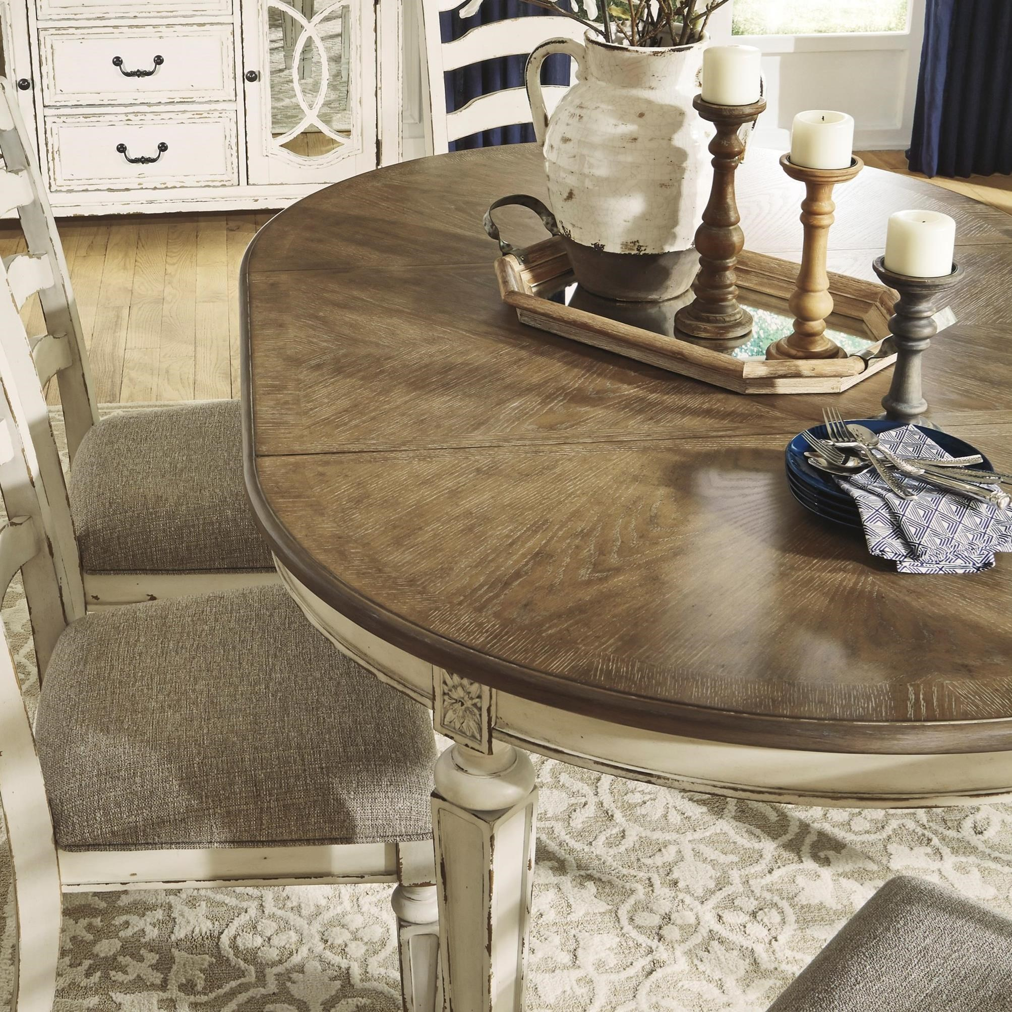 Ashley S Nest Decorating A Dining Room: Signature Design By Ashley Realyn Oval Dining Room
