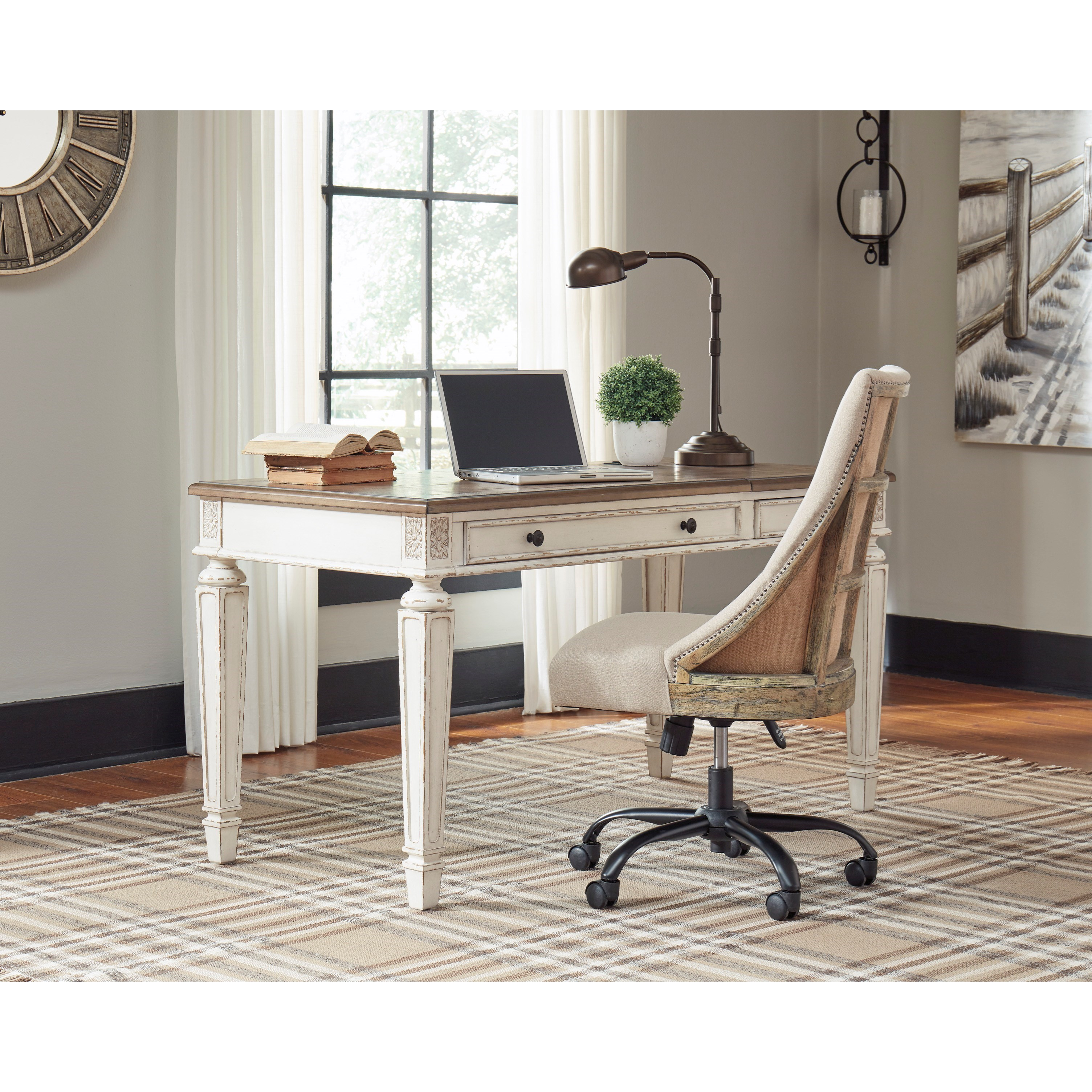 Signature Design By Ashley Realyn H743-134 Lift Top Desk