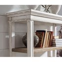 Signature Design by Ashley Realyn Open Shelf Bookcase with Drawer