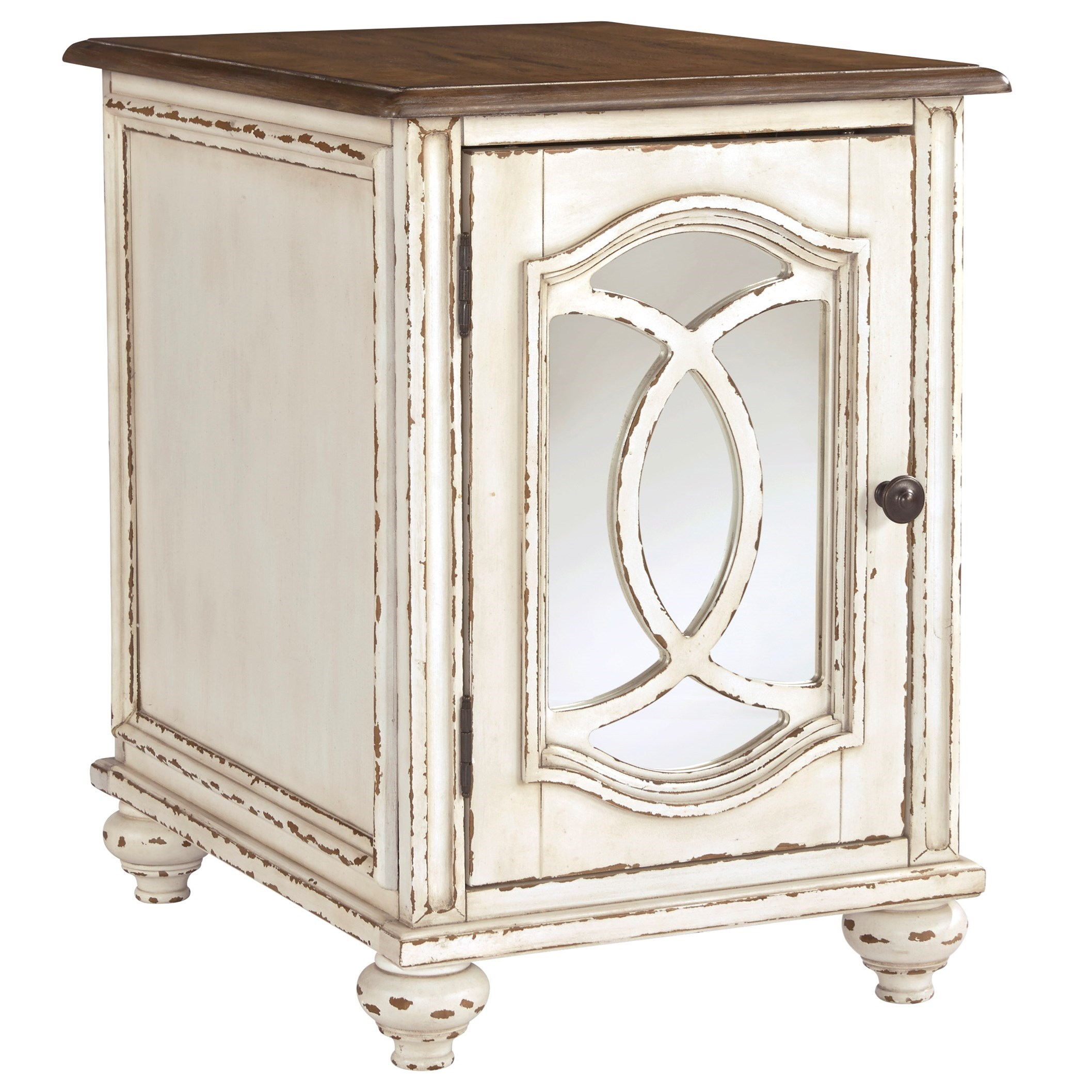 Realyn Chairside End Table by Signature Design by Ashley at Beck's Furniture