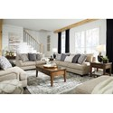 Signature Design by Ashley Reardon Living Room Group - Item Number: 56001 Living Room Group 2