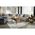 Signature Design by Ashley Reardon Living Room Group - Item Number: 56001 Living Room Group 4