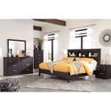 Signature Design by Ashley Reylow King Bedroom Group - Item Number: B555 K Bedroom Group 1