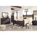 Signature Design by Ashley Reylow King Bedroom Group - Item Number: B555 K Bedroom Group 4