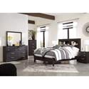 Ashley (Signature Design) Reylow Queen Bedroom Group - Item Number: B555 Q Bedroom Group 1