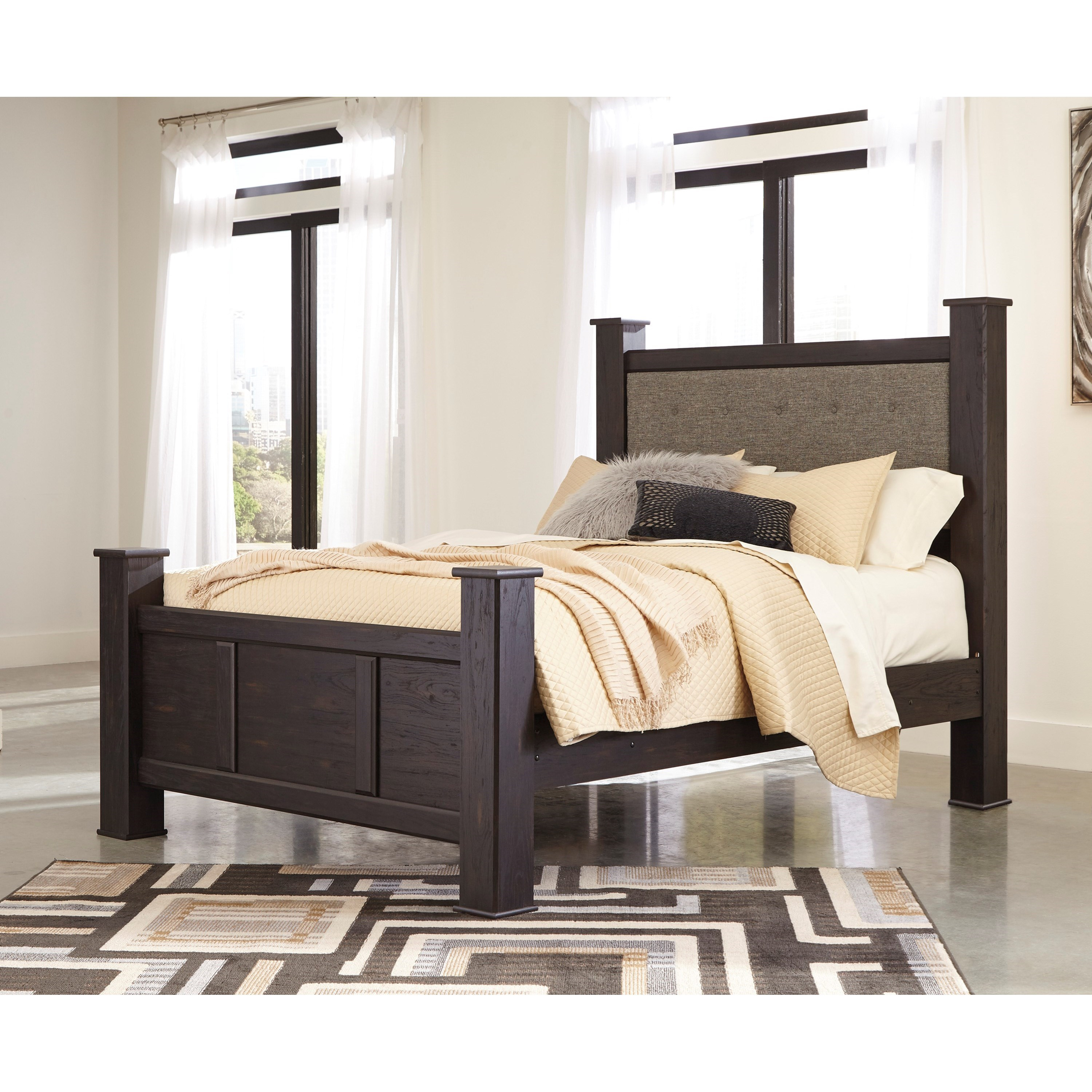 A1 Furniture Mattress Princess Night: Signature Design By Ashley Reylow Contemporary Queen