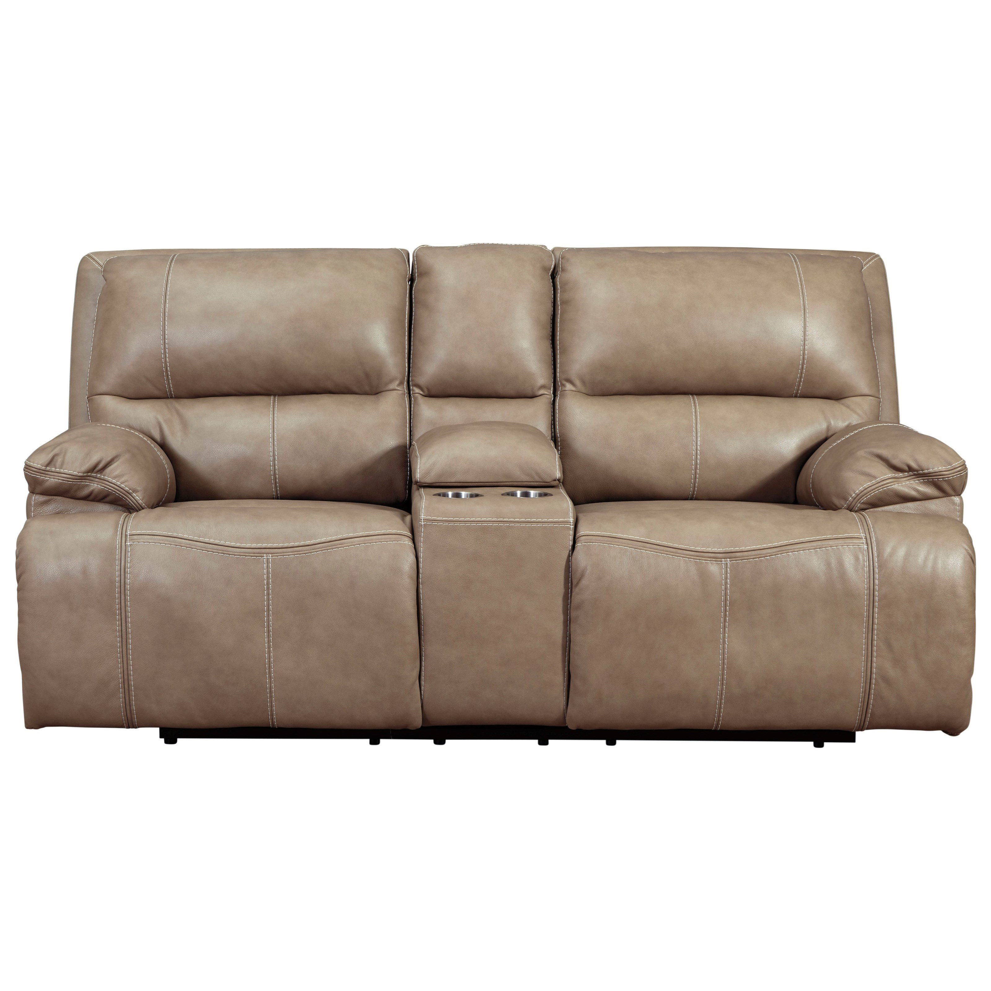 Ricmen Power Reclining Loveseat by Signature Design by Ashley at HomeWorld Furniture
