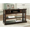 Signature Design by Ashley Roddinton Sofa Table with Metal X Panels