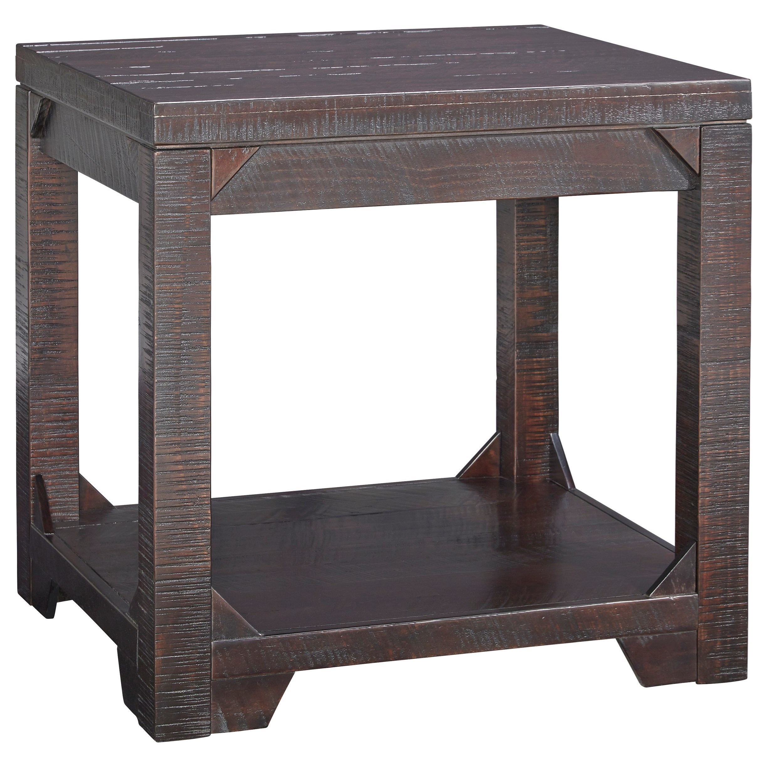 Signature Design by Ashley Rogness Rectangular End Table - Item Number: T745-3