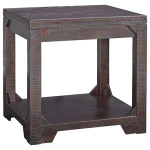 Signature Design by Ashley Rogness Rectangular End Table