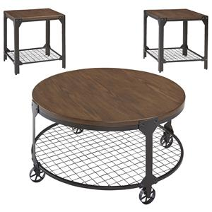 Signature Design by Ashley Furniture Rolena Occasional Table Set