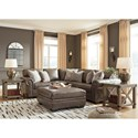 Signature Design by Ashley Roleson Stationary Living Room Group - Item Number: 58703 Living Room Group 2