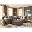 Signature Design by Ashley Roleson Stationary Living Room Group - Item Number: 58703 Living Room Group 3